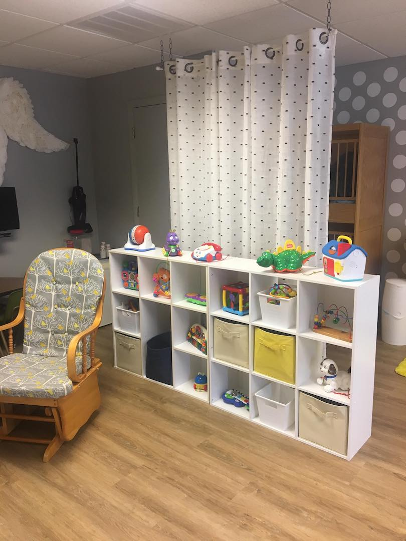 nursery cubbies