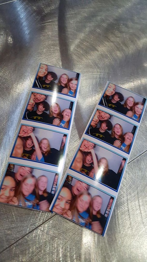 teen photo booth